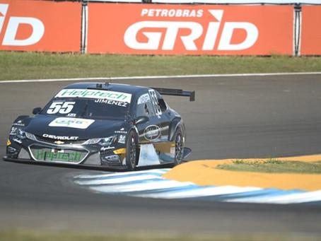 Jimenez alcança 'melhor dia em muito tempo' na Stock Car e coloca meta para sábado: chegar a