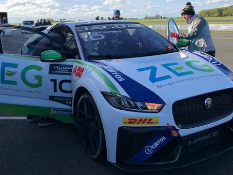 Jimenez e Cacá iniciam pré-temporada para segunda temporada do Jaguar I-PACE eTROPHY na Inglaterra