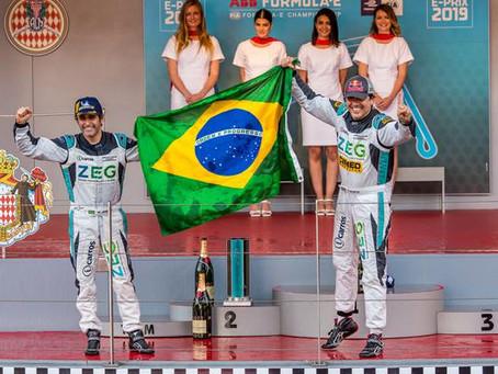 Cacá Bueno vence e Jimenez completa dobradinha brasileira no Jaguar I-PACE e-TROPHY em Mônaco