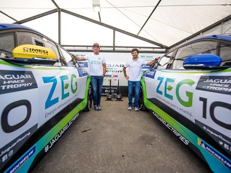 #PartiuFazerHistória! Cacá e Jimenez ligam o modo elétrico para 1ª corrida do Jaguar I-PACE eTROPHY