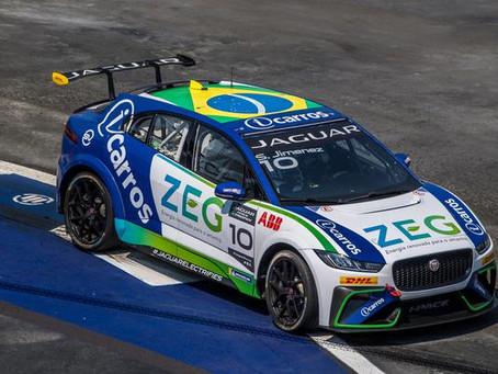 ZEG iCarros Jaguar Brazil começa na frente com Jimenez liderando primeiro treino no México