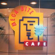Mega Bite Cafe Entrance