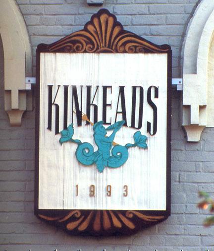 Kinkeads Facade signage