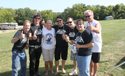 Kiers with the Band