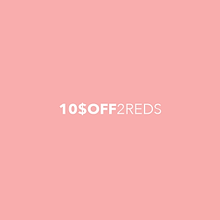 Get $10 Off when you buy 2 or more reds from the Red Ranchu Gallery.