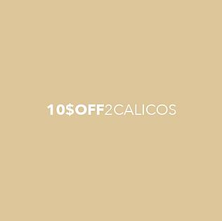 "Get $10 Off with any 2 Thai Calico Oranda purchase (5"" minimum size)."