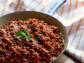 Simple and Rich Bolognese