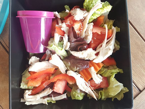 Simple Salad for Day 1