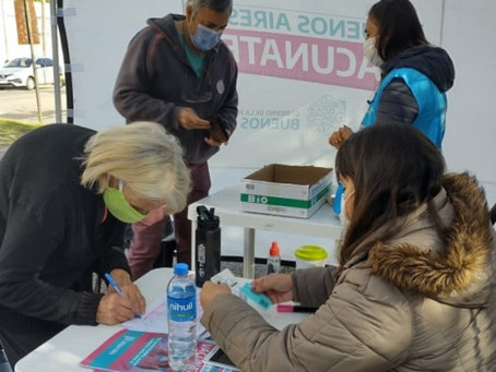 Llegaron 32000 credenciales de campanenses que completarán su vacunación