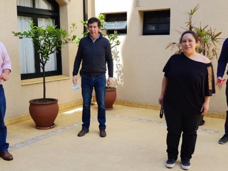 La UCR-Evolución Campana se reunió con Posse de cara a la renovación partidaria en la Provincia