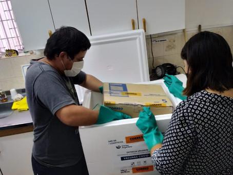 Llegaron 2400 vacunas a Campana