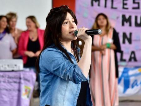 Soledad Alonso se solidarizó con los trabajadores de Tenaris