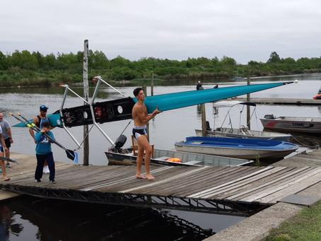 Remo: 2 medallas de plata para el Boat Club en el primer día de finales