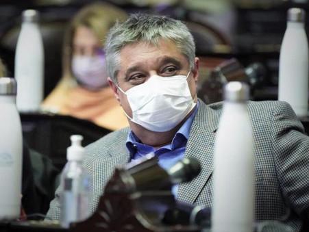 """Carlos Ortega en sintonía con Cafiero: """"Primero está la campaña de vacunación"""""""