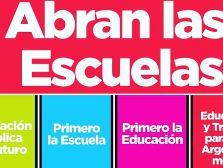 Torres Guerrero y Deppeler, de UCR Evolución, acompañarán el reclamo por las clases presenciales