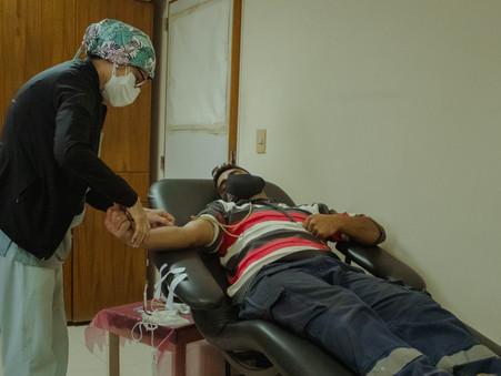 En el Día Mundial del Donante de Sangre, insisten en la importancia de sumarse a las campañas