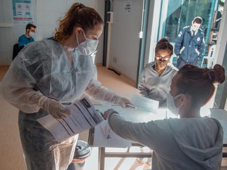 La Unidad de Testeo del hospital municipal ya realizó más de 2.600 hisopados