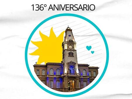 Feliz aniversario 136° a nuestra querida ciudad de Campana (por Soledad Alonso y Carlos Ortega)