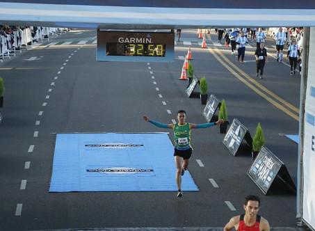 Gran presencia de runners campanenses en la ''Carrera Maya''
