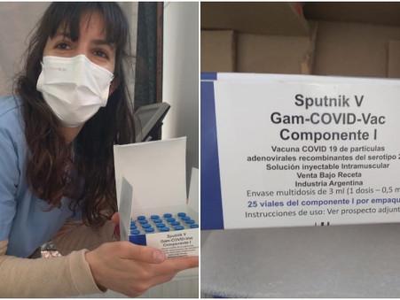 En Campana ya se aplica la Sputnik-V fabricada en Argentina