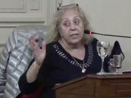 Stella Giroldi chocó contra su propio bloque, y fue elogiada por el macrismo