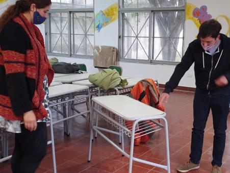 """Alejo Sarna: """"Cuidémonos, así cuidamos las clases presenciales"""""""