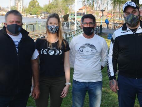 Nazarena y Cartucho, los perros que el presidente del Campana Boat Club no quiere