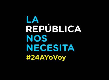 #24AYoVoy: Seguidores de Macri se movilizarán al Obelisco