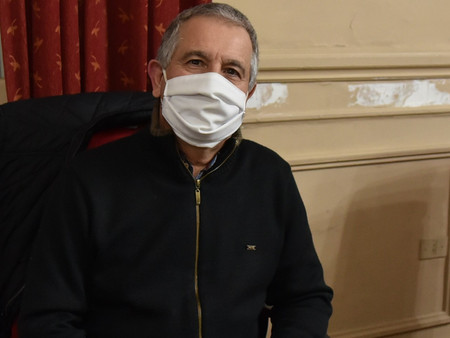 El concejal Meiraldi homenajeó al personal de la salud del Hospital San José