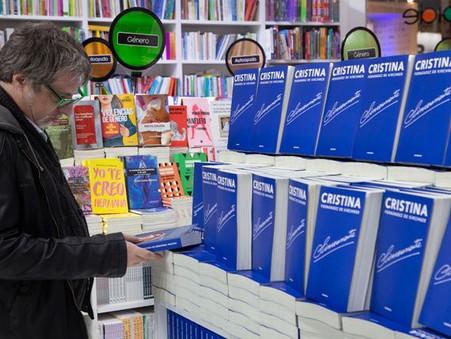 Furor de ventas por ''Sinceramente'', el libro de Cristina Fernández de Kirchner