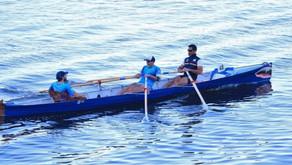 """El """"Chino"""" Canteros se subió al podio de la general en la regata """"Vuelta al Lago"""""""