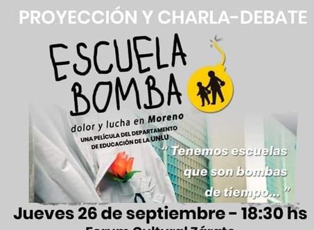 Se presenta en Zárate ''Escuela Bomba'' el documental sobre la tragedia de Moreno