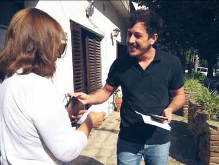 """Encabezado por Alejo Sarna, Vamos Campana lanzó la campaña """"Yo Te Escucho"""""""