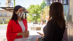 Elisa Abella volvió a solicitar que garanticen la presencialidad en las escuelas