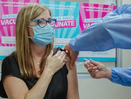 Ya se vacunaron 175 trabajadores de la salud contra el Covid-19