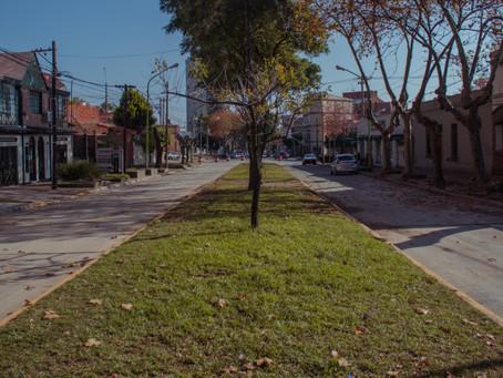 Habilitan al tránsito el boulevard Sarmiento entre de Dominicis y Güemes