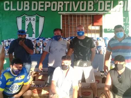 El Municipio acompañó el festejo de fin de año de la Liga de Veteranos de Fútbol