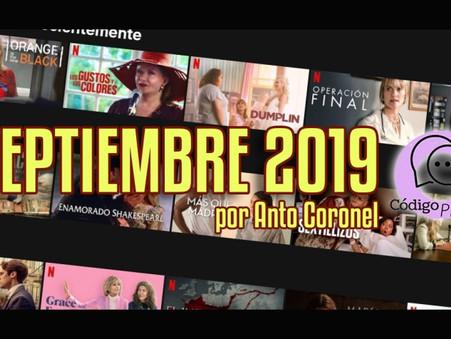 Los estrenos que se vienen en septiembre en Netflix