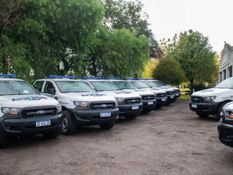 El Municipio recibió 10 nuevos móviles policiales