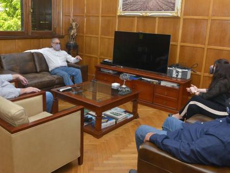 Alonso, Parravicini y Ortega se reunieron con el Ministro de Agricultura de la Nación
