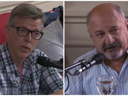 Axel Cantlon sobre Sergio Roses ''Se fue huyendo como una rata''