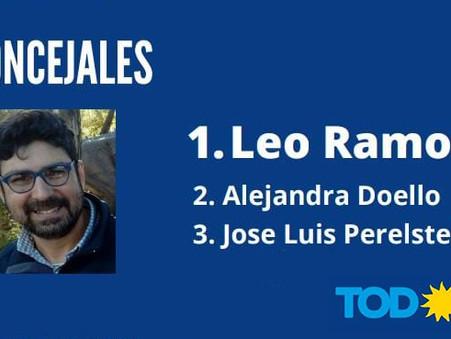 Finalmente, se conoció la lista de ''Leo'' Ramos
