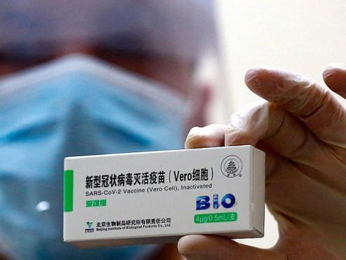 Tenían turno para vacunarse, pero desistieron al enterarse que les tocaba ''la china''