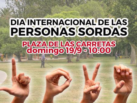 Estudiantes de LSA celebrarán este domingo el Día de las Personas Sordas