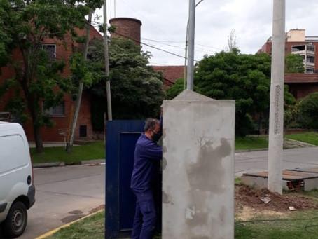 ABSA realizó trabajos para mejorar la presión del agua en varios sectores de la ciudad