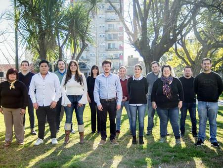 """Alejo Sarna: """"Estamos fundando una nueva clase de dirigentes, con prácticas políticas sanas""""."""