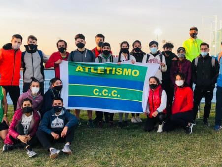 Atletismo: El Club Ciudad compitió en Parque Roca