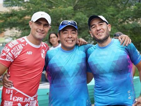 Pablo Canteros corrió en Rosario la regata ''35° aniversario del Club Náutico Malvinas Argentinas''
