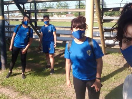 Testearon por Covid-19 al plantel femenino de Puerto Nuevo