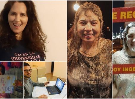 5 estudiantes de Ingenieria Química de la U.T.N. se recibieron de manera virtual